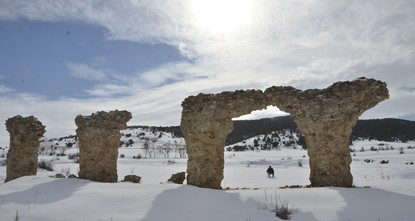 Ancient mountainside city to open for tourists