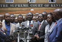A decision by Kenya's Supreme Court to annul the results of last month's presidential election was hailed Friday by analysts as