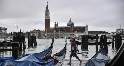 Venice underwater after highest tide in 50 years hits Italian city