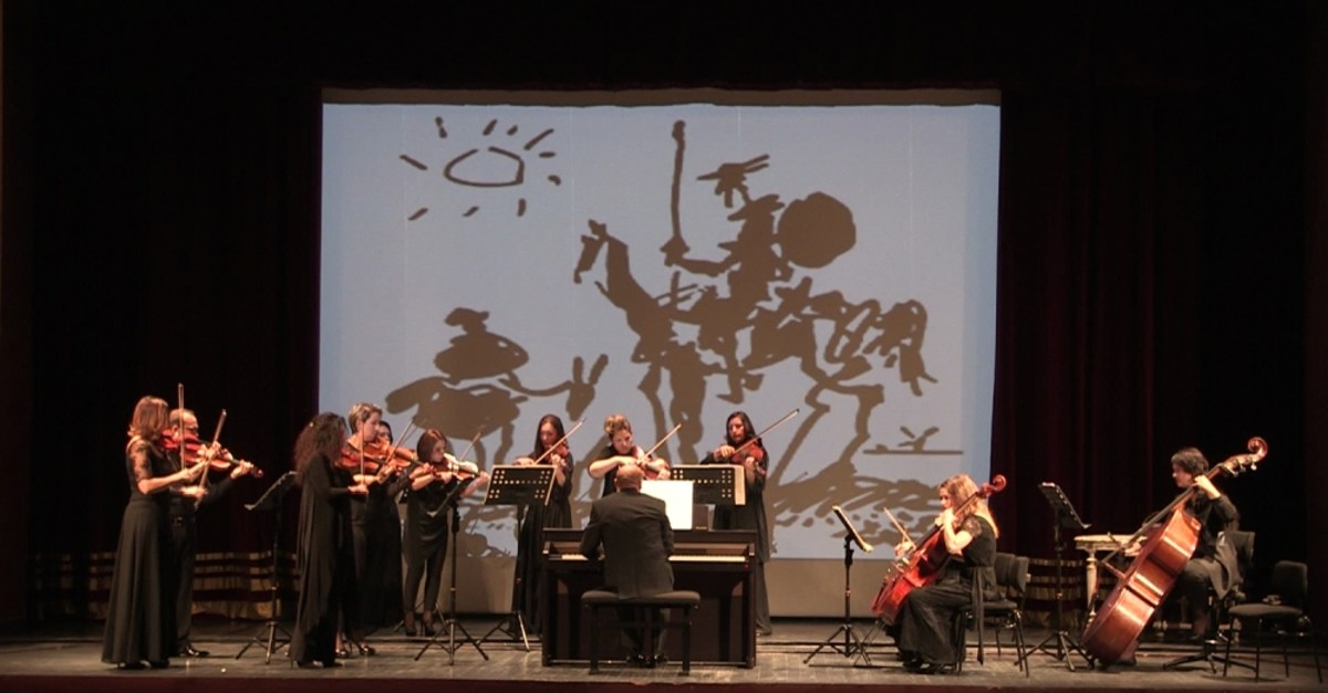 Works inspired by Don Quixote will salute spectators at the ,Cervantes Variations, event.