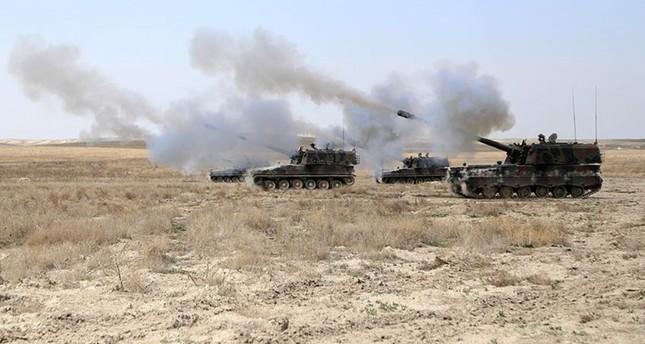 الجيش التركي يؤكد مقتل 14 عنصرا من داعش في قصف بري لشمال سوريا
