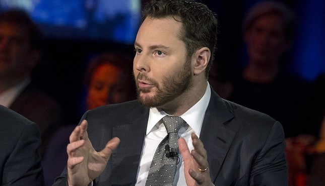 Entrepreneur Sean Parker, founding president of Facebook, warned this week of social media's pervasive impact on society. This file photo shows Parker speaking on a panel in New York, Sept. 29, 2015. (Reuters Photo)