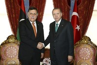 Erdoğan meets head of Libya's presidential council