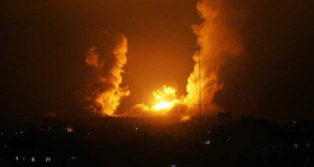 إصابة 3 فلسطينيين في غارات جوية إسرائيلية على غزة