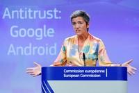 ЕK оштрафовала Google на 4,34 миллиарда евро