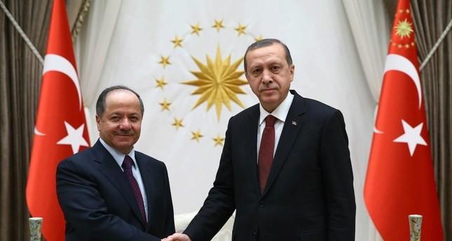 برزاني يزور تركيا نهاية الأسبوع الجاري