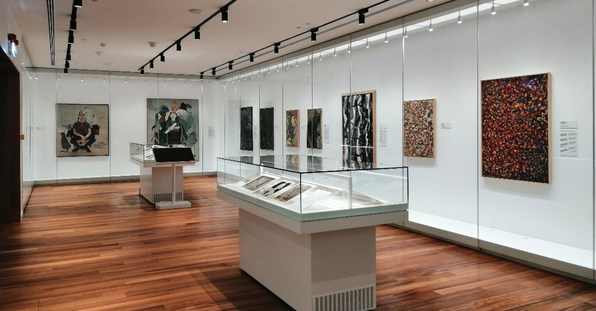 An exclusive selection of works by prominent artists are on display at the airport.