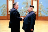 US to seek 'irreversible' denuclearization in deal with North Korea, Pompeo says