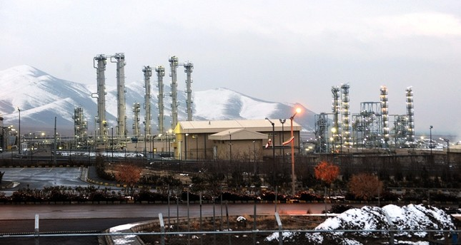 This Jan. 15, 2011, file photo, shows a general view of the water facility in Arak, Iran southwest of the capital Tehran. (AFP Photo)