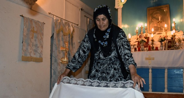 "Every day, Hatun Çaçur cleans up the church she ""didn't want to be abandoned to its fate."""