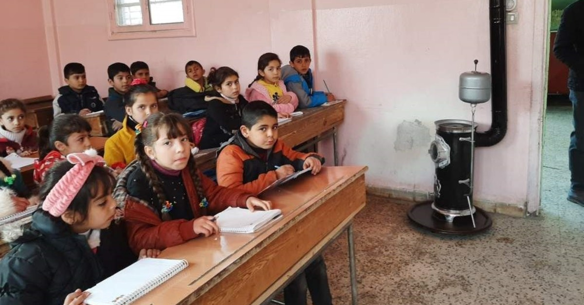 Following Operation Peace Spring, 7,222 students have resumed their education in northern Syria's liberated areas. (AA Photo)