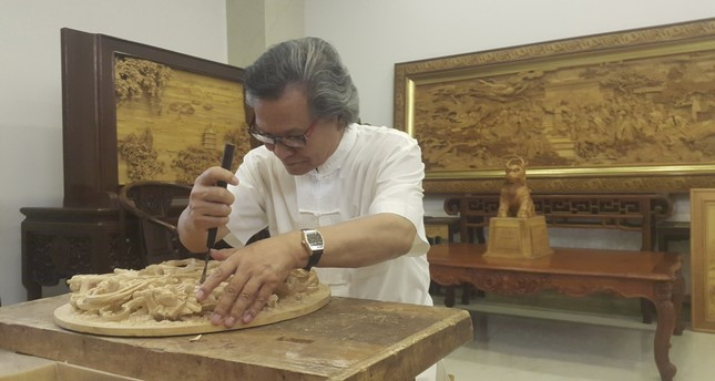 Chinese master woodcarver set to open exhibition in Istanbul