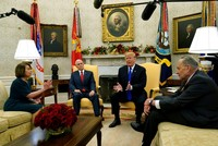 Trump threatens government shutdown after heated meeting with Democrats on border wall