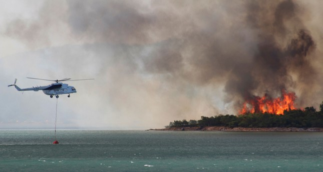 Huge blaze in western Turkey brought under control