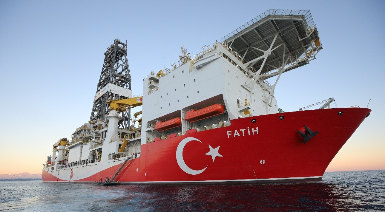 Turkeyu2019s first drilling vessel Fatih began drilling wells for hydrocarbon resources in the Mediterranean in late October and the second ship is expected to arrive in the regional waters by the end of January