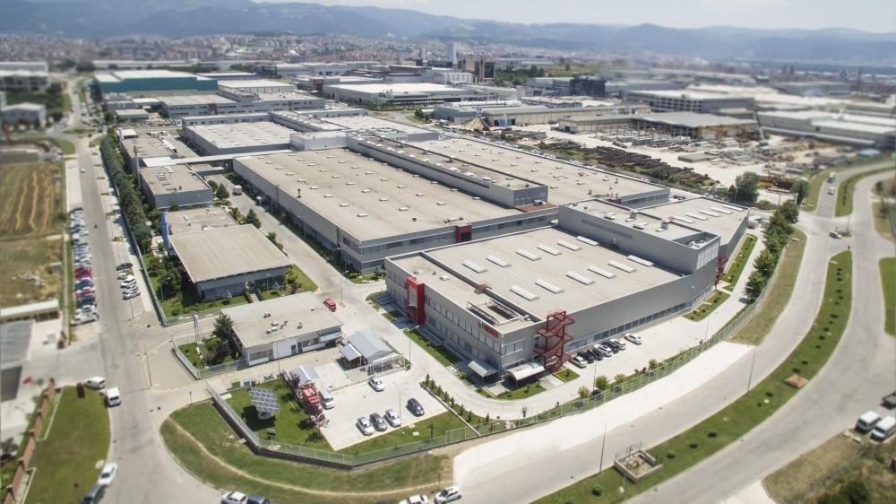 A view of Bosch's Turkey factory in Bursa province.