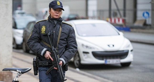 Danish police officer (Reuters Photo)