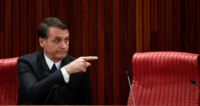 Brazilian President-elec Jair Bolsonaro (AFP Photo)