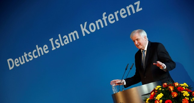 German Interior Minister Horst Seehofer attends the German Islam Conference in Berlin, Nov. 28.