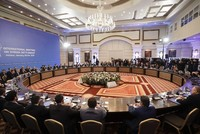 Next round of Syria peace talks set for Sept. 14-15 in Astana