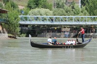 Locals and tourists enjoy gondolas in Turkey's Tunceli