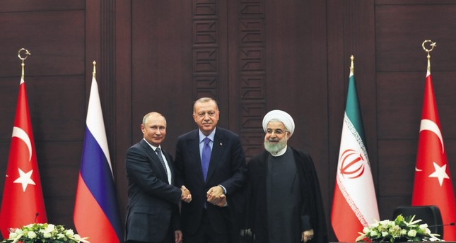 Astana guarantors' diverging priorities slow the political solution in Syria
