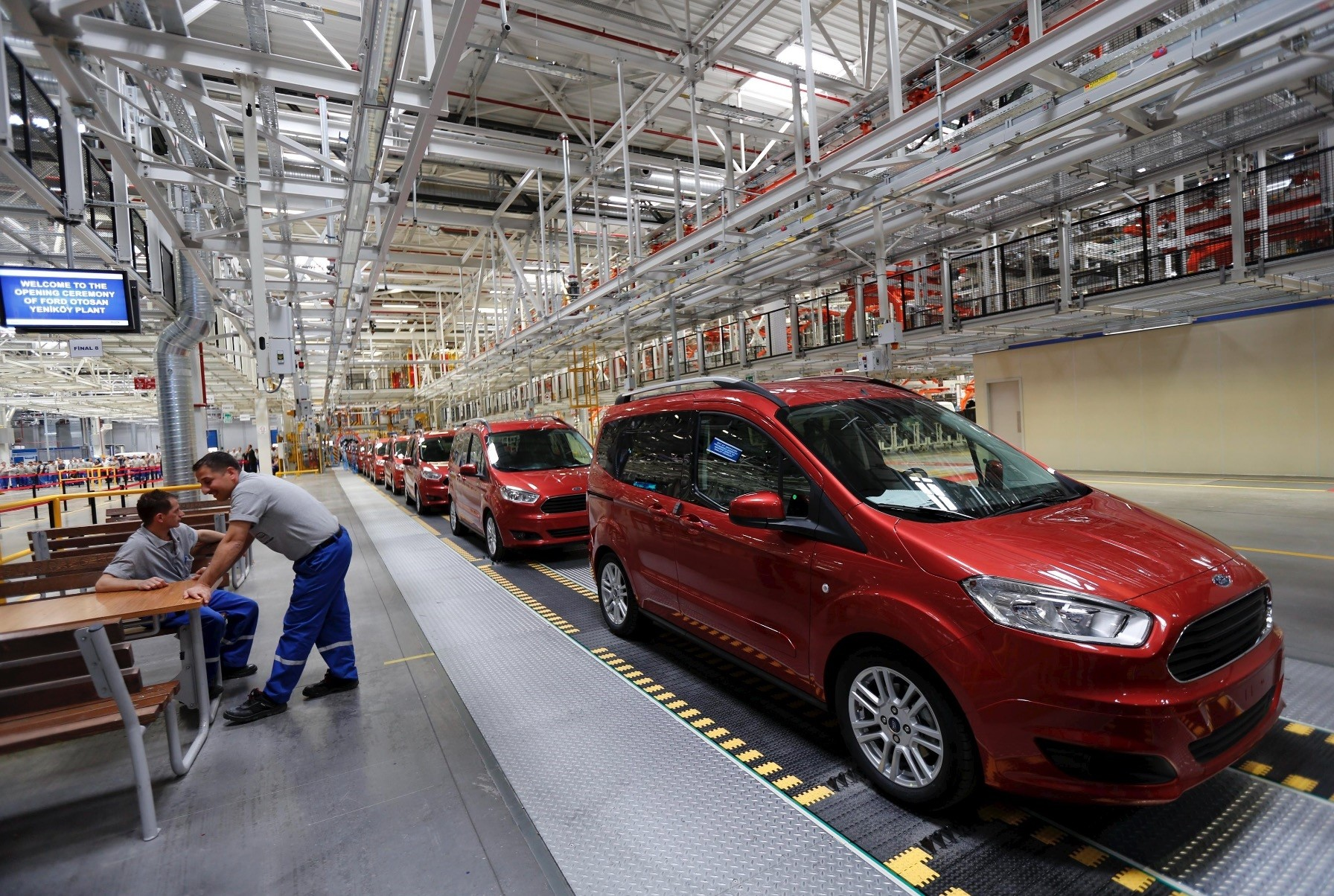 The Turkish automotive sector had the largest share in Turkey's total exports with 18.8 percent, completing the first half of the year as a leader in exports.