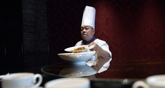 Ken Chan, the executive chef at the five-star hotel restaurant Le Palais in Taipei.