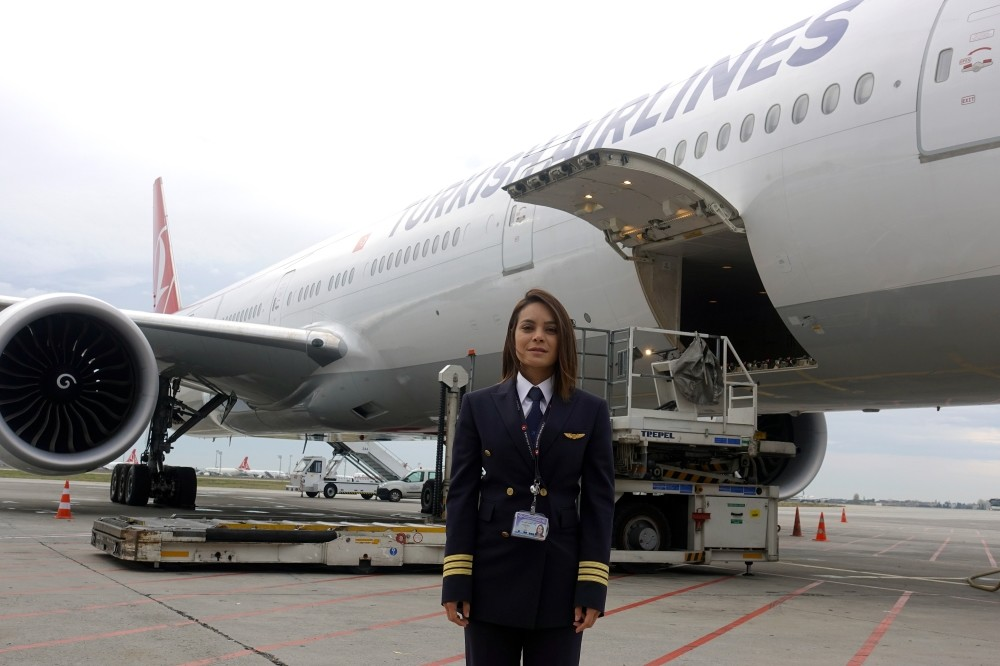 Alejandra Maria Gomez Rozo always dreamed about becoming a pilot and now he is realizing her dreams with THY.
