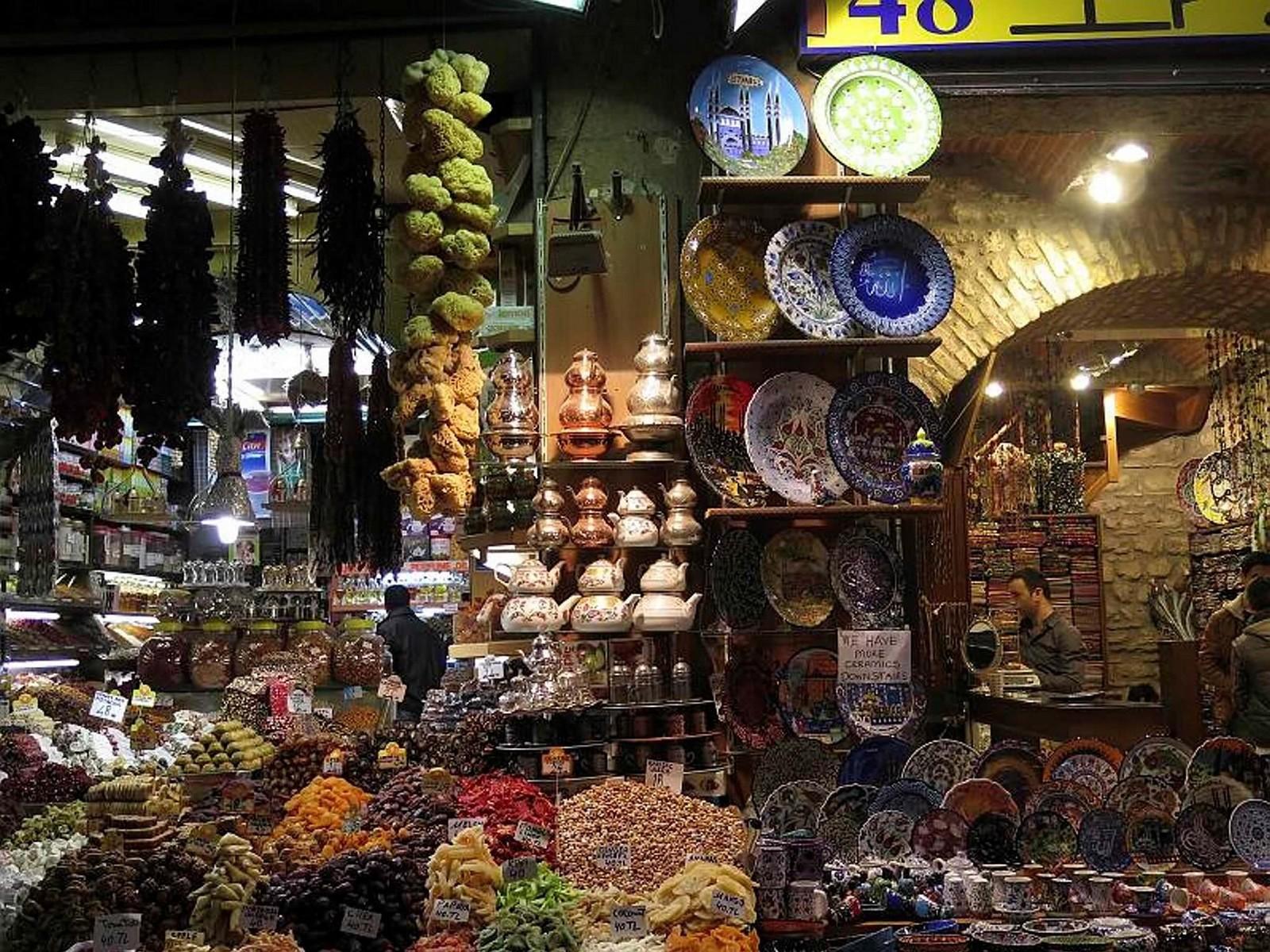 1-Spice Bazaar, Istanbul