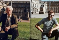 Young Turkish traveler recreates grandfather's 30-year-old shots in Germany