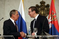 Serbia lashes out at EU over close ties with Russia