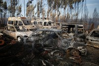 Portugal's Interior Minister Constanca Urbano de Sousa resigned from her post after fires killed more than a hundred people in the country's two worst disasters of recent times, the government said...