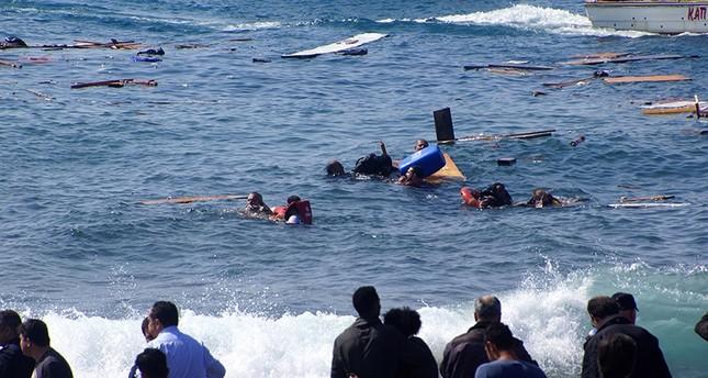انتشال رفات أكثر من 200 مهاجر من سفينة غرقت قبل عام قبالة إيطاليا