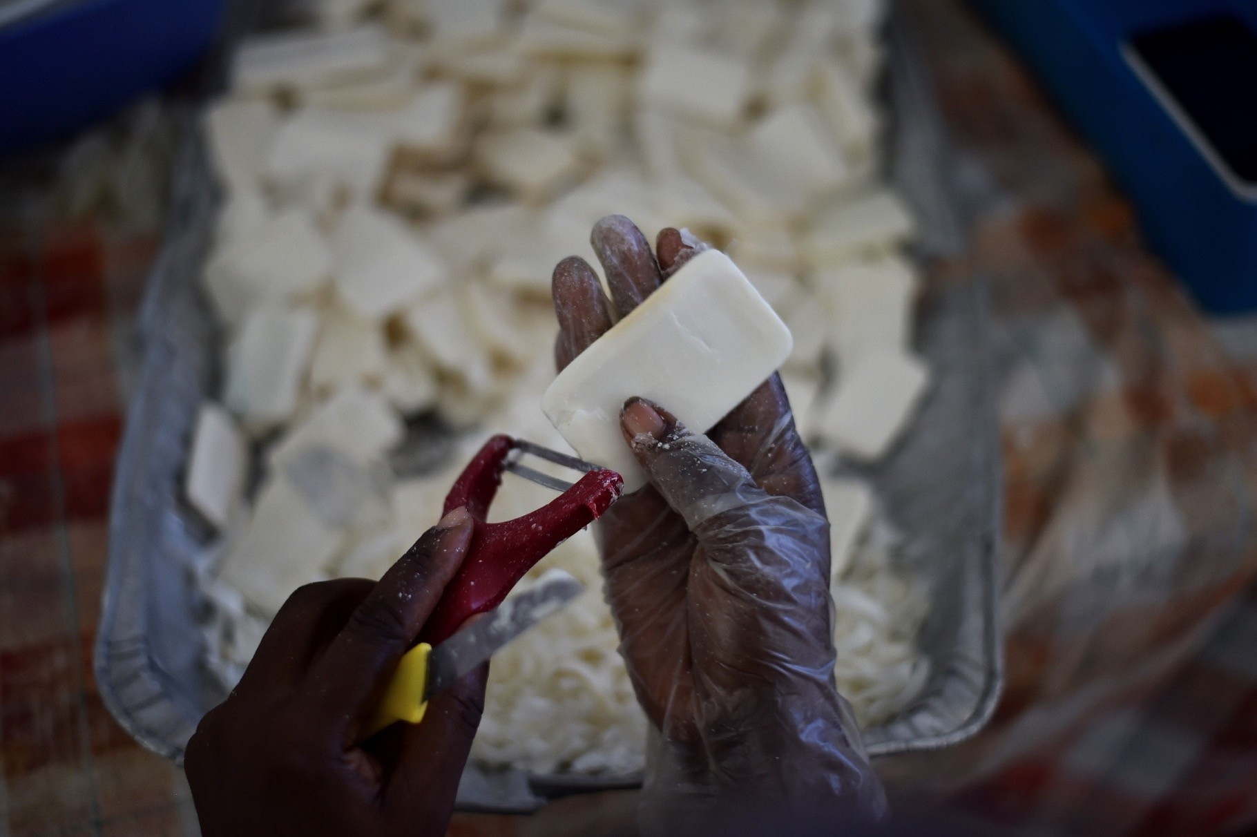 A Haitian program to recycle used soap bars from luxury hotels has proven a win-win-win proposition, reducing waste, helping fight water-borne disease.