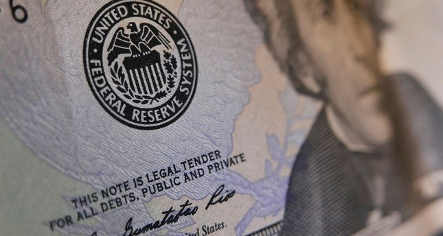 The seal of the Federal Reserve on a U.S. banknote. The Fed has signaled a rate hike could be possible at its June 14-15 meeting, although markets are betting the central bank it will wait until its July meeting.