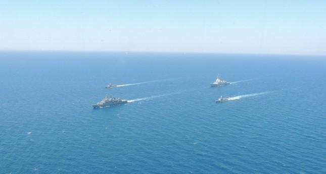 تدريبات مشتركة بين البحرية التركية والإسبانية في بحر إيجة