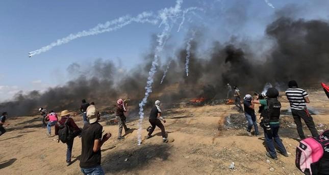 صورة أرشيفية من مسيرات العودة الكبرى  / وكالة الإخلاص لأنباء