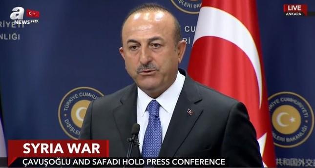 تشاوش أوغلو: لن يطرأ أي تغيير على وضع إدلب والمدنيين والمعارضة المعتدلة