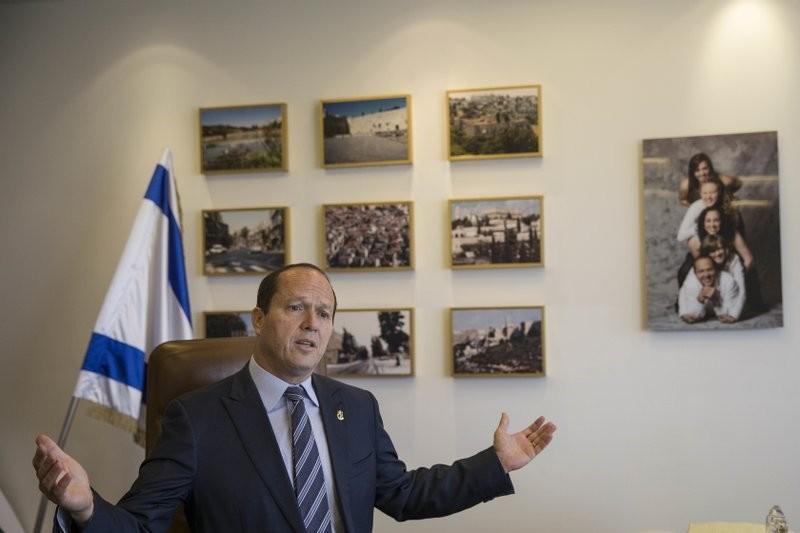 Jerusalem Mayor Nir Barkat (AP Photo)