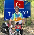 Cycling from Casablanca to Mecca, Moroccan athlete arrives in Ankara