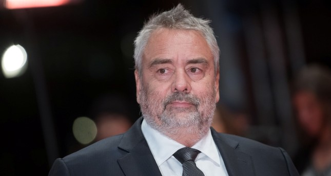In this file photo taken on February 17, 2018 French director Luc Besson poses on the red carpet upon arrival for the premiere of the film Eva presented in competition during the 68th Berlinale film festival in Berlin. (AFP Photo)