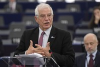 Turkey, Russia playing a very strong role in Libya, EU's Borrell says