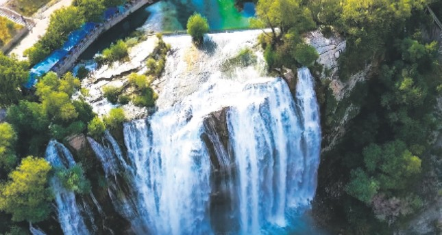 Biggest waterfall in Anatolia and the wonders of spring