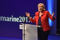 The European Union will die because the people do not want it anymore, French far-right leader Marine Le Pen told a rally on Sunday, saying it would be replaced by a