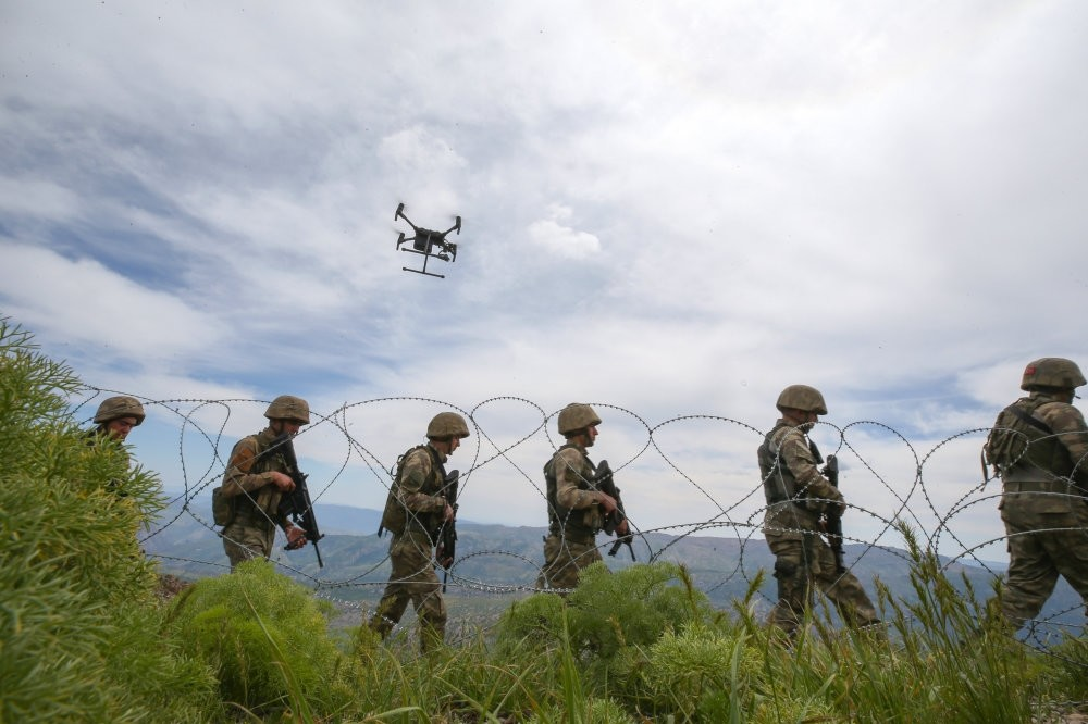 The Turkish military recently set up bases for tanks, helicopters and armed drones in the region.