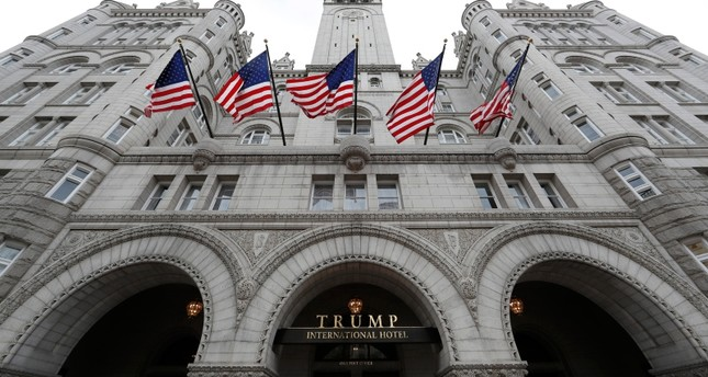DC sues Trump committee over stay at President's hotel
