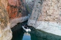 Unique canyons on banks of Euphrates enthrall visitors