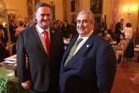 وزير الخارجية البحريني يلتقي نظيره الإسرائيلي في واشنطن (@IsraelMFA)