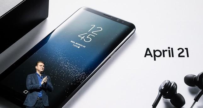 Samsung stellt neues Smartphone Galaxy S8 vor